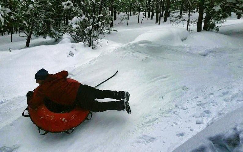 Back 2 Basics Fresh Snow Adventure at Arizona Snowbowl