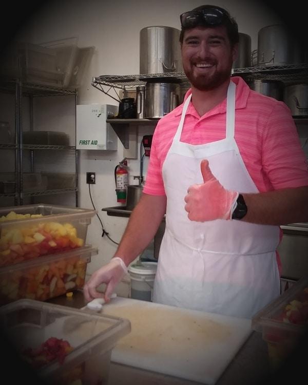 Food Bank Culinary Pink Shirt