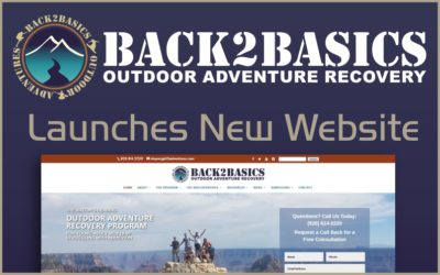 Back2Basics Launches New Website for Outdoor Adventure Recovery