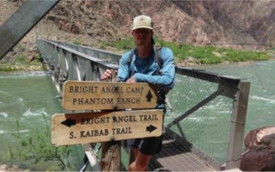 Hiking Through the Grand Canyon to Challenge Recovery