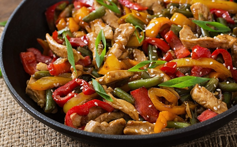 Kathys Culinary Corner Stir Fry Chicken and Vegetables
