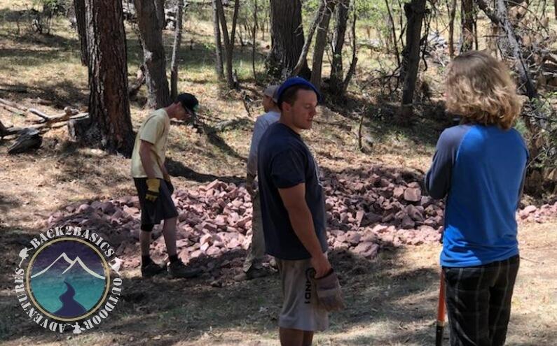 Long Valley Meadow Project Rocks