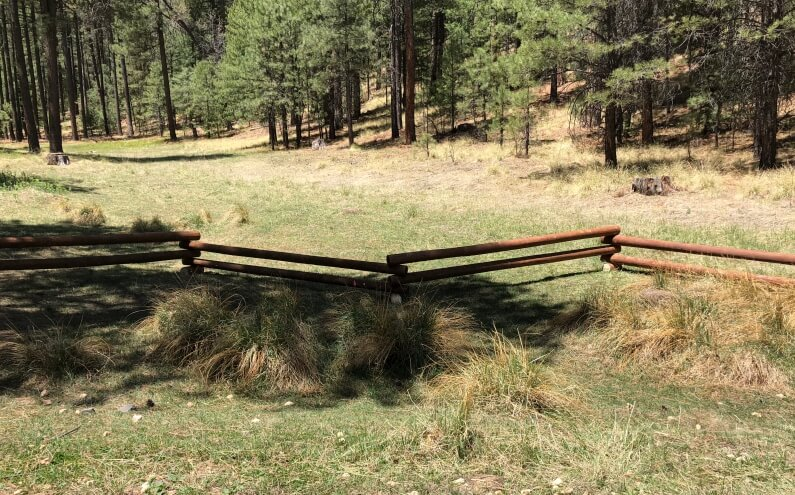 Long Valley Meadow Project Fence