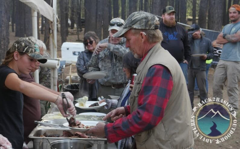 Long Valley Meadow Project Serving Food