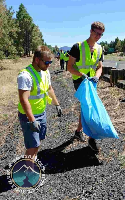 Young Men Adopt a Highway