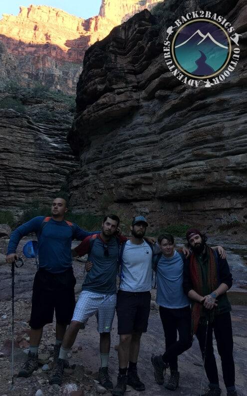 Grand Canyon Split Young Men