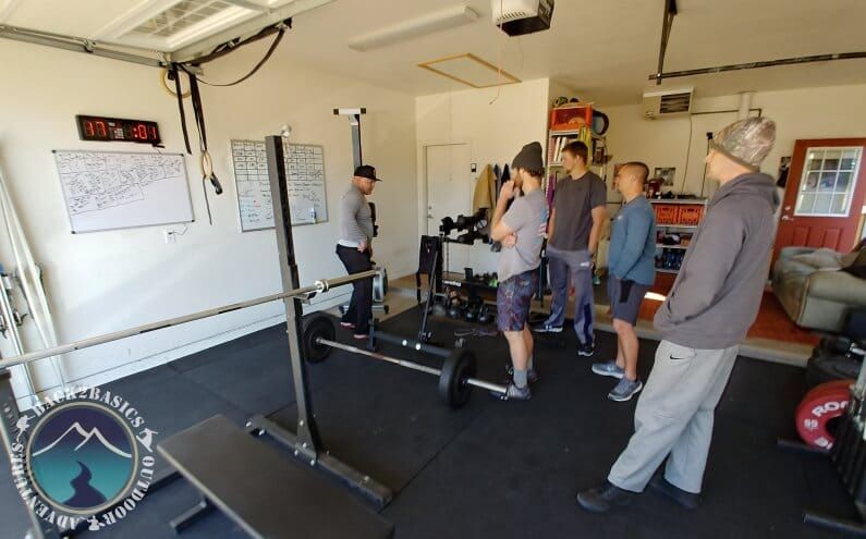 Young Men at Thanksgiving Weight Room