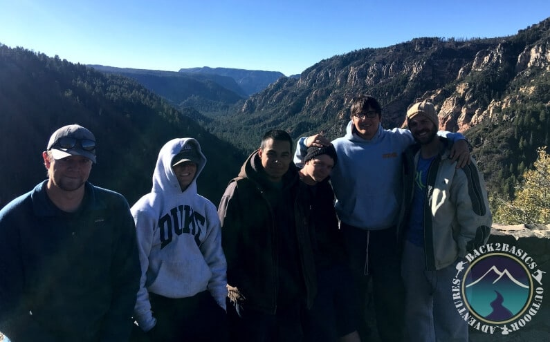 Young Men at Sedona