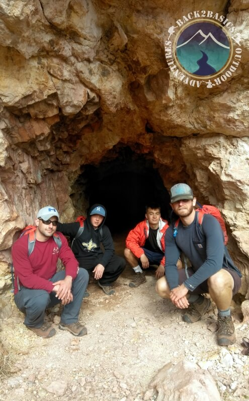Young Men Grand View Cave
