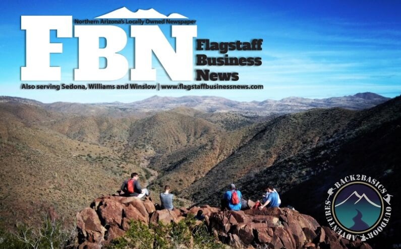 Mindfulness Young Men Hiking Valley