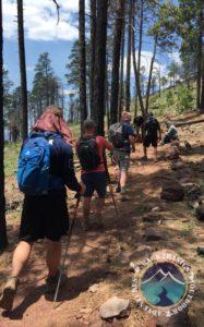 hiking O'Leary's Peak